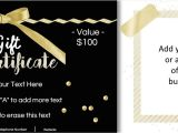 Free Gift Certificate Template with Logo Gift Certificate Template with Logo