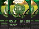 Free Golf tournament Flyer Template Golf tournament Premium A5 Flyer Template