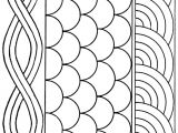 Free Hand Quilting Templates Rope Shell Fan Quilting Pattern Larger Image