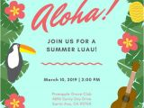 Free Hawaiian Luau Flyer Template Customize 102 Luau Invitation Templates Online Canva