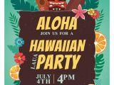 Free Hawaiian Luau Flyer Template Luau Party Hawaii Invitation Flyer Poster Template Luau
