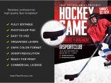 Free Hockey Flyer Template Hockey Game Flyer Template Flyerheroes