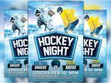 Free Hockey Flyer Template Hockey Night Flyer Template Flyer Templates Creative