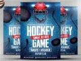 Free Hockey Flyer Template Ice Hockey Flyer Template 2 Flyer Templates Creative