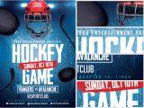 Free Hockey Flyer Template Ice Hockey Flyer Template 2 Flyerheroes