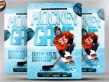 Free Hockey Flyer Template Ice Hockey Flyer Template Flyer Templates On Creative Market