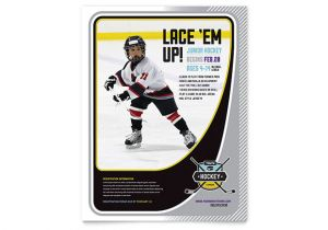 Free Hockey Flyer Template Junior Hockey Camp Flyer Template Design