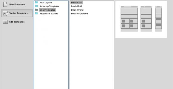 Free HTML Email Templates Dreamweaver Email Templates In Dreamweaver Cc