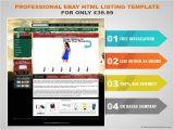 Free HTML Templates for Ebay Professional Ebay HTML Listing Template for Only 39 99