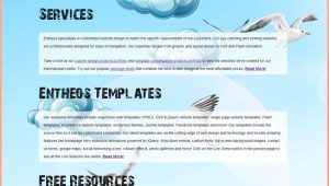 Free HTML5 Parallax Scrolling Template Free HTML5 and Css3 Website Templates Entheos