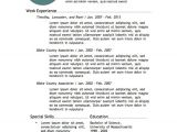 Free It Resume Templates 12 Resume Templates for Microsoft Word Free Download