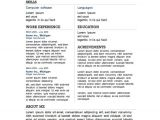 Free It Resume Templates 12 Resume Templates for Microsoft Word Free Download Primer