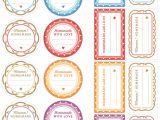 Free Jam Label Templates 5 Best Images Of Free Printable Jam Jar Labels Free