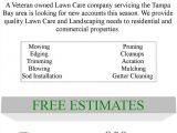 Free Lawn Care Flyer Template for Microsoft Word Lawn Care Flyer Free Template Lawn Care Business