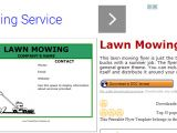 Free Lawn Mowing Service Flyer Template 5 Lawn Mowing Flyer Templates Af Templates