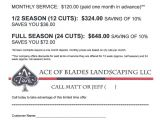 Free Lawn Mowing Service Flyer Template 9 Best Invoices Images On Pinterest Lawn Service Free