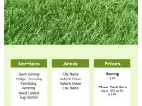 Free Lawn Mowing Service Flyer Template Lawn Care Flyer Template for Word