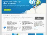 Free Lead Capture Page Templates 40 Free and Premium Landing Page Templates the Design Work