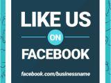 Free Like Us On Facebook Flyer Template Like Us On Facebook Easil
