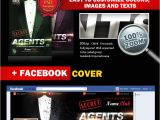 Free Like Us On Facebook Flyer Template Secret Agents Party Psd Flyer Template 5617 Styleflyers