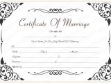 Free Marriage Certificate Template 9 Best Images Of Marriage Certificate Template Free