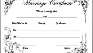 Free Marriage Certificate Template Marriage Certificate Template Microsoft Word Templates