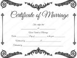 Free Marriage Certificate Template Royal Corner Marriage Certificate Template Dotxes