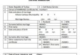 Free Marriage Certificate Translation Template 18 Sample Marriage Certificate Templates to Download