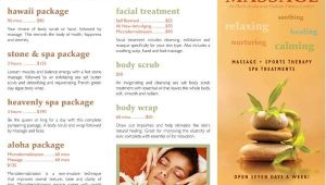 Free Massage therapy Brochure Templates 7 Massage Brochures Printable Psd Ai Indesign Vector