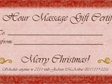 Free Massage therapy Gift Certificate Template 1500px