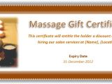 Free Massage therapy Gift Certificate Template Free Massage Gift Certificate Template Journalingsage Com