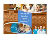 Free Medical Brochure Templates for Word Medical Brochure Template for Medical Services Brochures