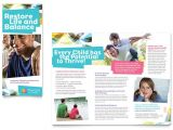 Free Mental Health Brochure Templates Adolescent Counseling Tri Fold Brochure Template Word