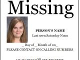 Free Missing Person Flyer Template Poster Templates Archives Microsoft Word Templates