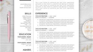 Free Monogram Resume Template Monogram Resume Template Cv Template Resume Template Word