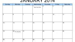 Free Monthly Calendar Templates 2014 Free Printable 2014 Monthly Calendar Template Calendar