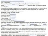 Free Mortgage Email Templates Sample Loan Agreement 10 Free Documents In Pdf Word
