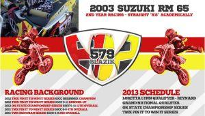 Free Mx Resume Templates Motocross Sponsorship Mxm Nation