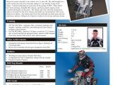 Free Mx Resume Templates Ryan Rose Racing Apparel Sponsorship Resume the