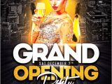 Free Nightclub Flyer Templates Download Grand Opening Party Flyer Template Freebie Free Party