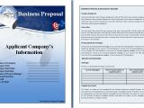 Free Online Business Proposal Template Business Proposal Template by formsword