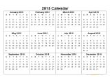 Free Online Calendar Template 2015 2015 Calendar Blank Printable Calendar Template In Pdf