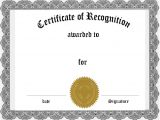 Free Online Certificate Templates for Word 36 Certificate Word Template Free Free Printable