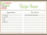 Free Online Cookbook Template 44 Perfect Cookbook Templates Recipe Book Recipe Cards