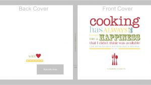 Free Online Cookbook Template 7 Best Images Of Recipe Book Cover Template Free Recipe