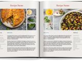 Free Online Cookbook Template Cookbook Templates Word Excel Samples