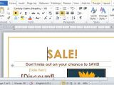 Free Online Flyer Creator Templates Retail Sale Flyer Maker Template for Word