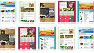 Free Online Newsletter Templates for Email 900 Free Responsive Email Templates to Help You Start