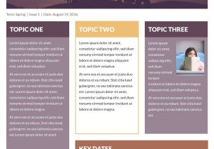 Free Online Newsletter Templates for Email Free Printable Newsletter Templates Email Newsletter