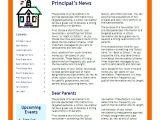 Free Online Newsletter Templates Pdf School Newsletter Templates Madinbelgrade